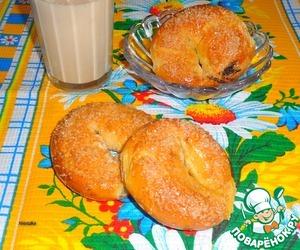 Рецепт Пончики с маковой начинкой
