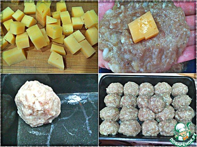Ежики в духовке  рецепты с фото Как приготовить ёжики в