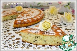Рецепт Кекс-манник ромовый с черным кунжутом