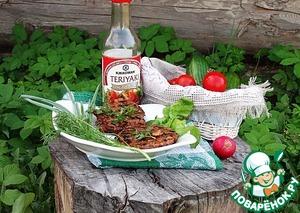 """Рецепт Рубленые котлеты из индейки с соусом """"Терияки"""""""