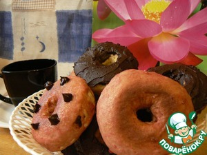 Рецепт Пончики по-американски