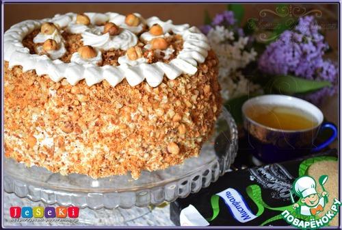 Бисквитный ореховый торт рецепты