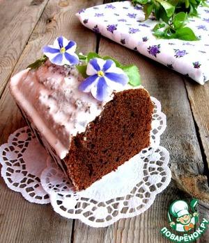 Рецепт Кекс с халвой и какао