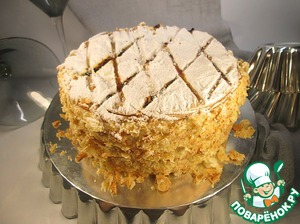 """Рецепт Традиционный торт """"Наполеон"""" в английском стиле"""