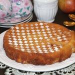 Грушевый кекс с шафраном