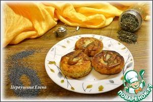 Рецепт Сырники мятные с маком
