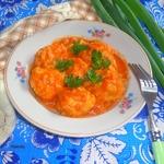 """Тефтели """"Ёжики"""" в томатно-луковом соусе"""