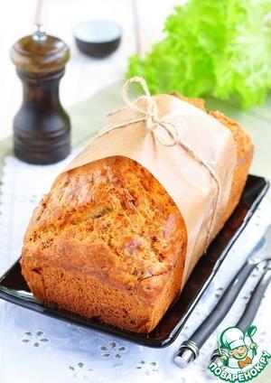 Рецепт Закусочный кекс с беконом и сыром