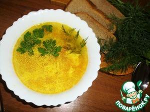Рецепт Суп куриный с яйцом