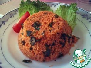 Рецепт Турецкий салат из булгура-кысыр