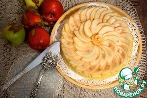Рецепт Яблочно-карамельная шарлотка