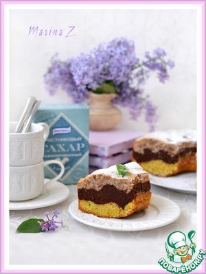 Рецепт Трехцветный кекс
