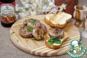 Шампиньоны, фаршированные паштетом вкусный пошаговый рецепт приготовления с фото как приготовить
