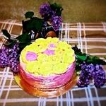 Бисквитный торт Для принцесс