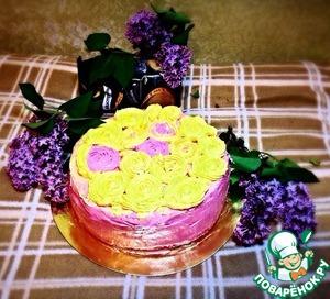 """Рецепт Бисквитный торт """"Для принцесс"""""""