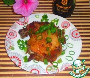 Рецепт Бедра куриные в чесночно-имбирном маринаде