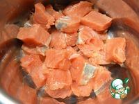 Шашлык из кижуча в сливочно-соевом соусе ингредиенты