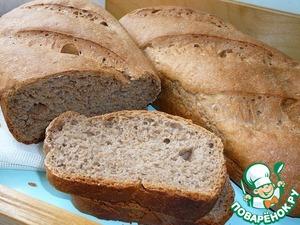 Рецепт Сливочно-ржаной хлеб
