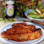 Свиная корейка, маринованная в пикантном соусе