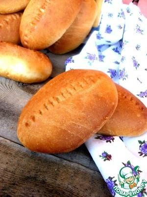 Рецепт Пирожки духовые с рисом и яйцом