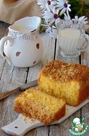 Рецепт Кокосово-цитрусовый кекс