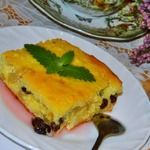Творожно-рисовая запеканка по бабушкиному рецепту