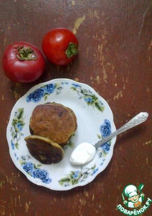 Рецепт Дрожжевые оладьи с припеком