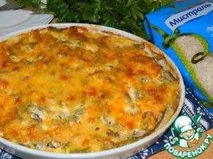 Рецепт Рисово-мясная запеканка с овощами
