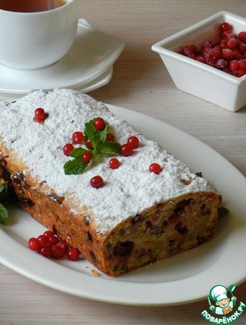 кекс с брусникой рецепт с фото