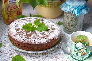 Рецепт Шоколадный бисквит на горячем молоке