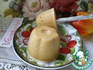 Рецепт Домашнее молочное мороженое на палочке