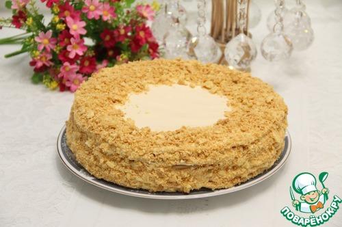 Торт наполеон старый рецепт с фото