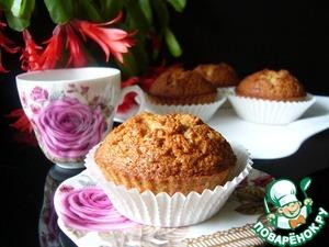 Рецепт Миндально-карамельные кексы на белках