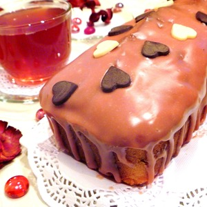 Рецепт Кекс с вишней и шоколадом