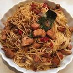 Пикантные китайско-итальянские спагетти