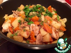 Мясо с овощами по-уткински домашний рецепт с фото как приготовить