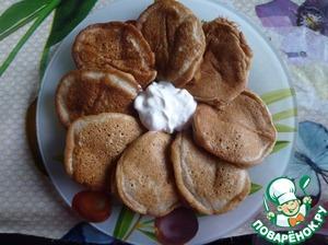Рецепт Оладьи из фруктов от компота