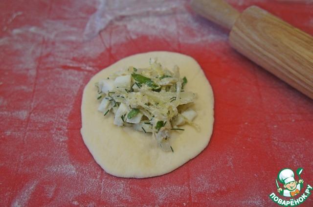 Милашино тесто и пирожки из него пошаговый рецепт приготовления с фото #13