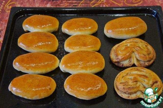 Милашино тесто и пирожки из него пошаговый рецепт приготовления с фото #15