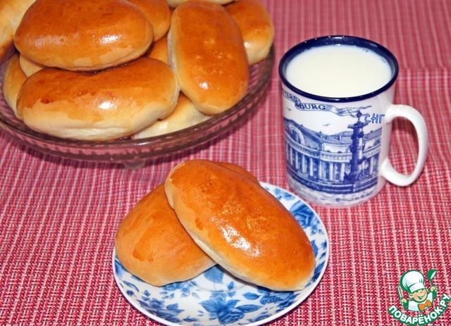 Милашино тесто и пирожки из него пошаговый рецепт приготовления с фото #16