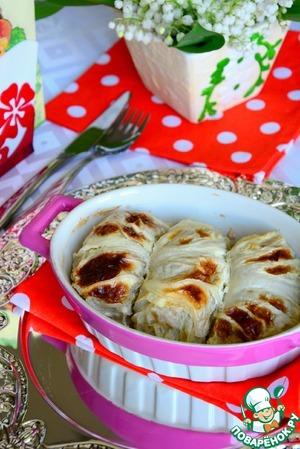 Рецепт Голубцы с пекинской капустой