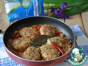Рецепт Ленивые голубцы на сковороде