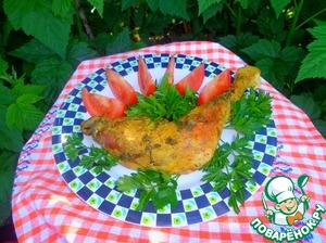 Рецепт Куриные ножки в маринаде из кисляка