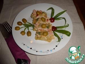 """Рецепт Голубцы """"Миниатюрные"""" с оливками"""