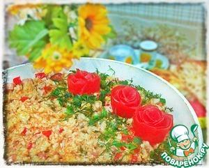 Паэлья с курицей, ветчиной и овощами пошаговый рецепт с фотографиями как приготовить