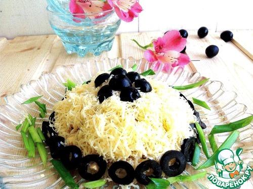 Рецепты салата черный жемчуг с