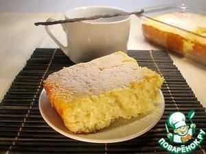 Рецепт Ванильная рисовая запеканка