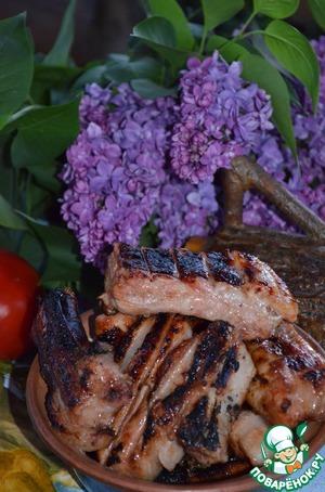 Рецепт Шашлык из свиных ребрышек