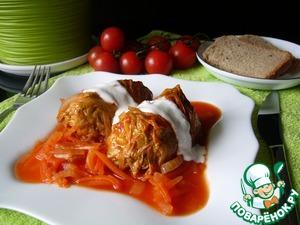 Как приготовить Голубцы в томатном соке вкусный рецепт приготовления с фото