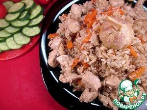 Рецепт Плов с куриным филе и барбарисом